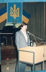 Speach about who we are here in Germany in the early 80's